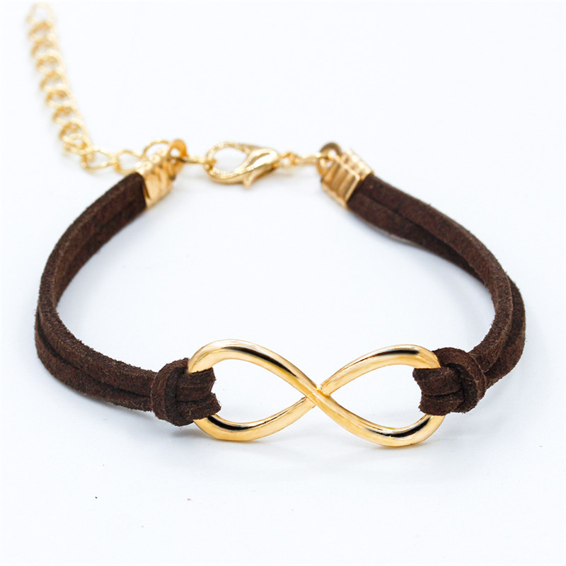 SL103-Hot-Selling-Cheap-Wholsale-Fashion-Infinity-Leather-Bracelet-Eight-Cross-Bangle-For-Girl-Wedding-Jewelry (4)