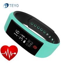 Teyo Новый Smart Band W808S Bluetooth сна монитор сердечного ритма погоду напомнит Pulsera inteligente умный браслет на запястье Android