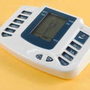 Image 3 - JR309 new Tiếng Nga hoặc Tiếng Anh nút Điện Stimulator Full Body Thư Giãn Cơ Bắp Therapy Massage, Pulse hàng chục Châm Cứu + 16 pads