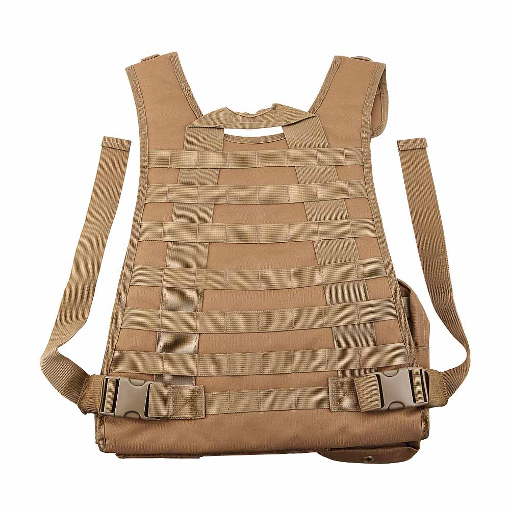 Camo CS Paintball Airsoft Armour Tactical Military Combat Assault Vest Outdoor Training Hunting Waistcoat Swat Safety Clothing