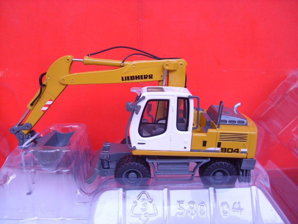 N-58004 1:50 R904C колесный экскаватор игрушка