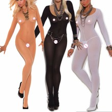 8fa681a0547 Erotic Sexy Lingerie for Women Sexy Bodystockings One Piece Lingerie Full  Body Sexy Bodysuit Transparent Sexy