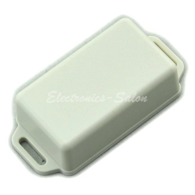 Small Wall-mounting Plastic Enclosure Box Case, White,61x36x20mm, HIGH QUALITY.