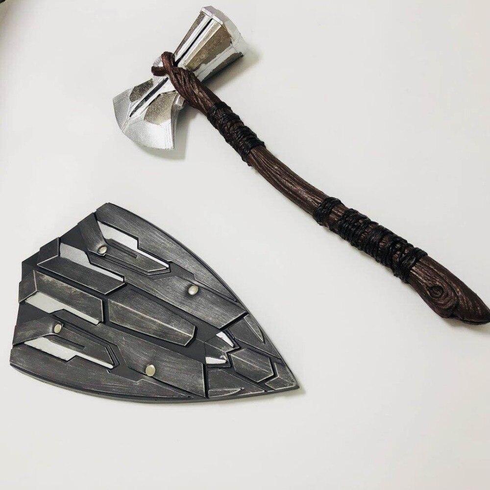1-1-font-b-avengers-b-font-3-infinity-war-captain-america-thor-stormbreaker-axe-cosplay-prop-steven-rogers-shield-thor-new-handmade-axe