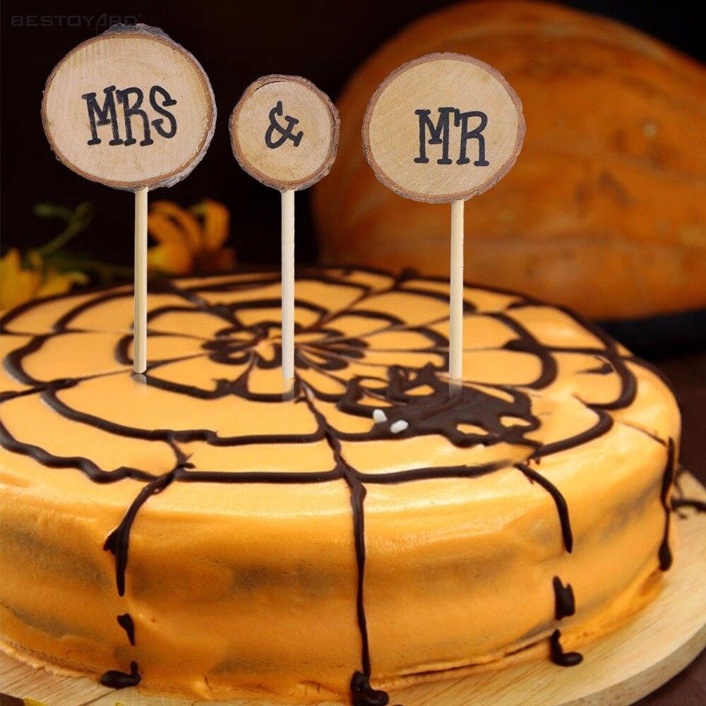 Ounona Hochzeitstorte Topper Mr Und Mrs Kuchen Deko Topper Party