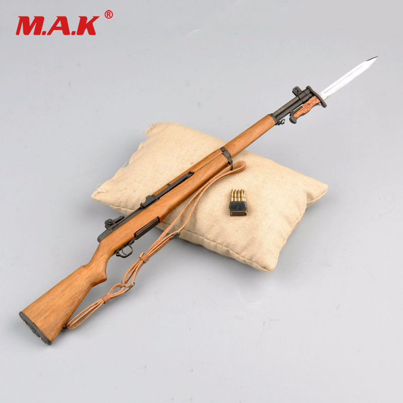 1/6 Scale 12 Soldier Figure Accessory Weapon United States Rifle M1 Garand Model Toys for Action Figure wwii german weapon model 1 6 scale karabiner 98k rifle gun bayonet model toys for 12 action figure body accessory gifts colle