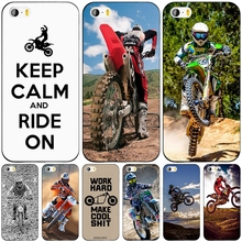 Motocross dirtbikes free style cell phone Cover case for iphone 6 4 4s 5 5s SE 5c 6 6s 7 plus case for iphone 7