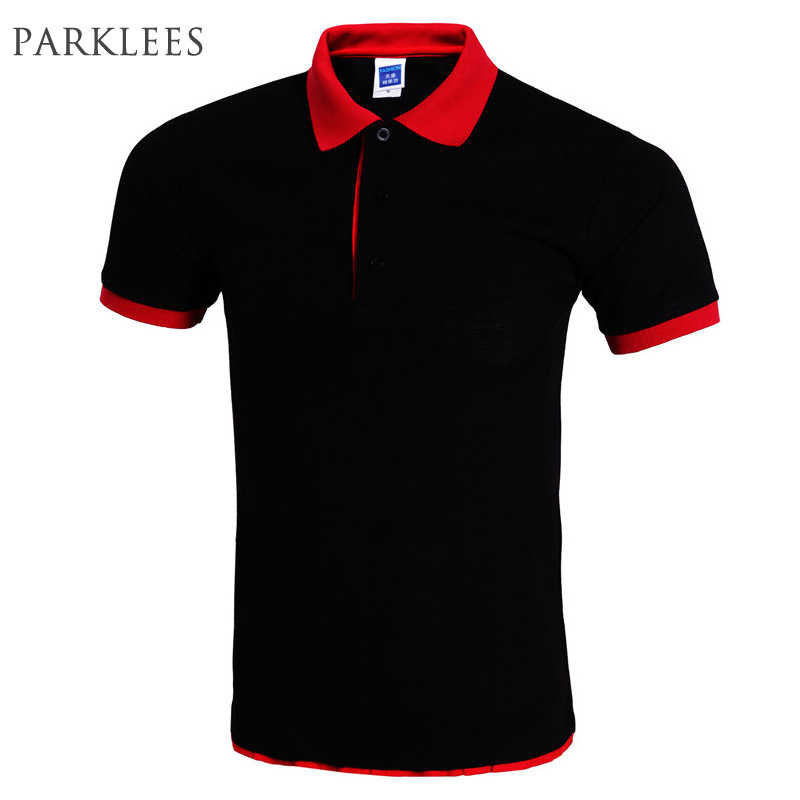 fb89a64608cd Cool Polo Shirt Men Polo Homme Brand Design Double Collar Solid Color Polo  Shirts Summer Style