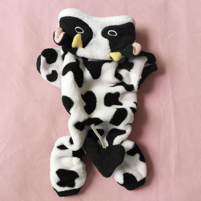 Suit of Cow for Cats & Dogs