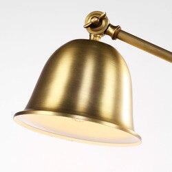 W stylu vintage lampka do sypialni antyczna lampa stołowa oświetlenie 30088
