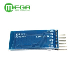 Image 3 - Orignal 5 pçs/lote HC05 JY MCU anti reverso, módulo pass through serial Bluetooth integrado, HC 05 master slave 6pin