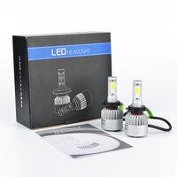 H4 H7 H11 H13 9005 9006 LED Car Headlight Bulb Hi Lo Beam COB Led Headlights