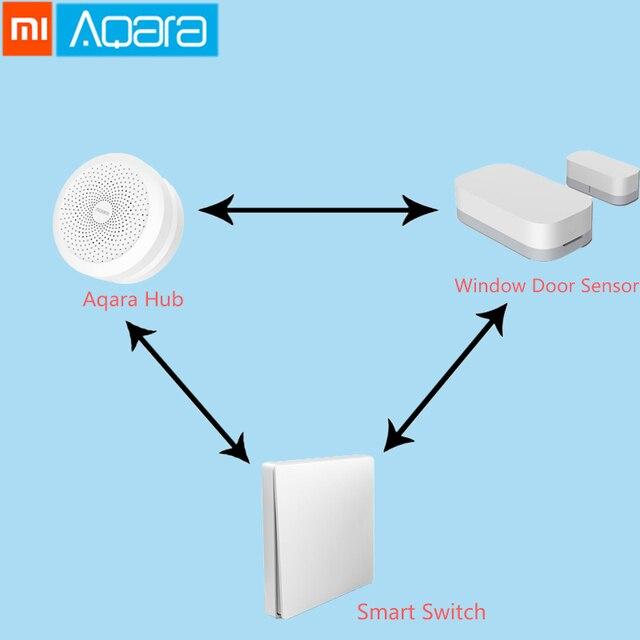 원래 xiao mi aqara 지능형 패키지는 mi jia mi home app와 함께 작동합니다.