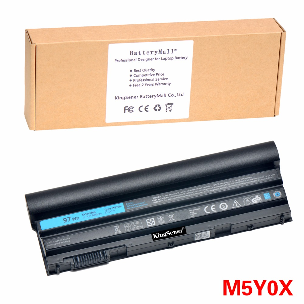 все цены на 11.1V 97WH Korea Cell New M5Y0X Laptop Battery for DELL Latitude E6420 E6520 E5420 E5520 E6430 71R31 NHXVW T54FJ 9CELL онлайн