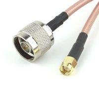 20 м SMA штекер N Штекер коаксиальный антенный кабель сборки двойной Экранированный кабель низкие потери высокого Температура