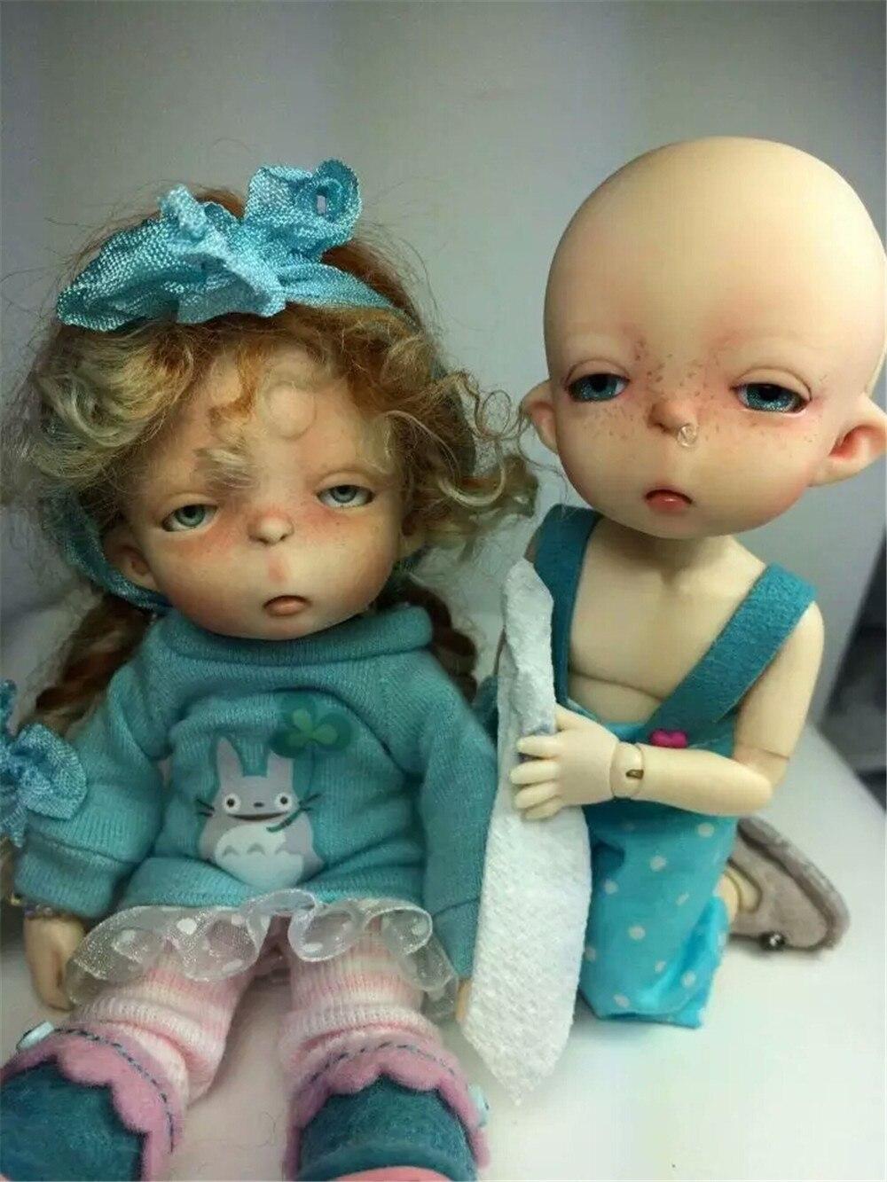 1/8 BJD body Model Reborn for little girls dolls doll eyes high quality toys shop Cosmetics Resin Free eyes
