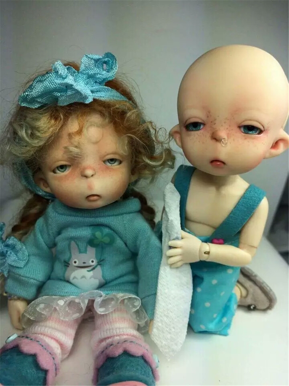 Reborn Free Eye To Choose Eye Color To Have Both The Quality Of Tenacity And Hardness 1/8bjd Doll Dolls