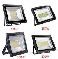 2 шт. Светодиодный прожектор 100 Вт 150 Вт 200 Вт 300 Вт прожектор IP65 водонепроницаемый Светодиодный прожектор отражатель светодиодный наружное о...