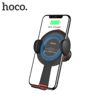 HOCO 2 In 1 Qi Wirelss Charger Fast Charging For IPhone X 8 Car Phone Holder