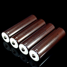 6ชิ้นปล่อยพิเศษแบตเตอรี่บุหรี่อิเล็กทรอนิกส์สำหรับlg hg2 18650 3000 mah 3.6โวลต์20a +บวกหมวกปลายจัดส่งฟรี