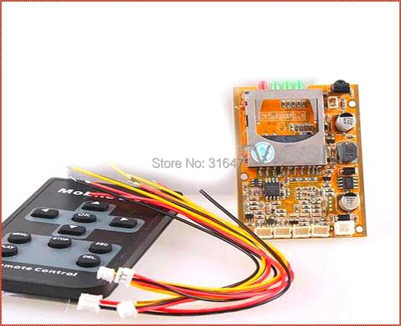 FPV DVR Board Mini DVR Board 1CH SD DVR Board D1 704x576 Motion Detection Free shipping