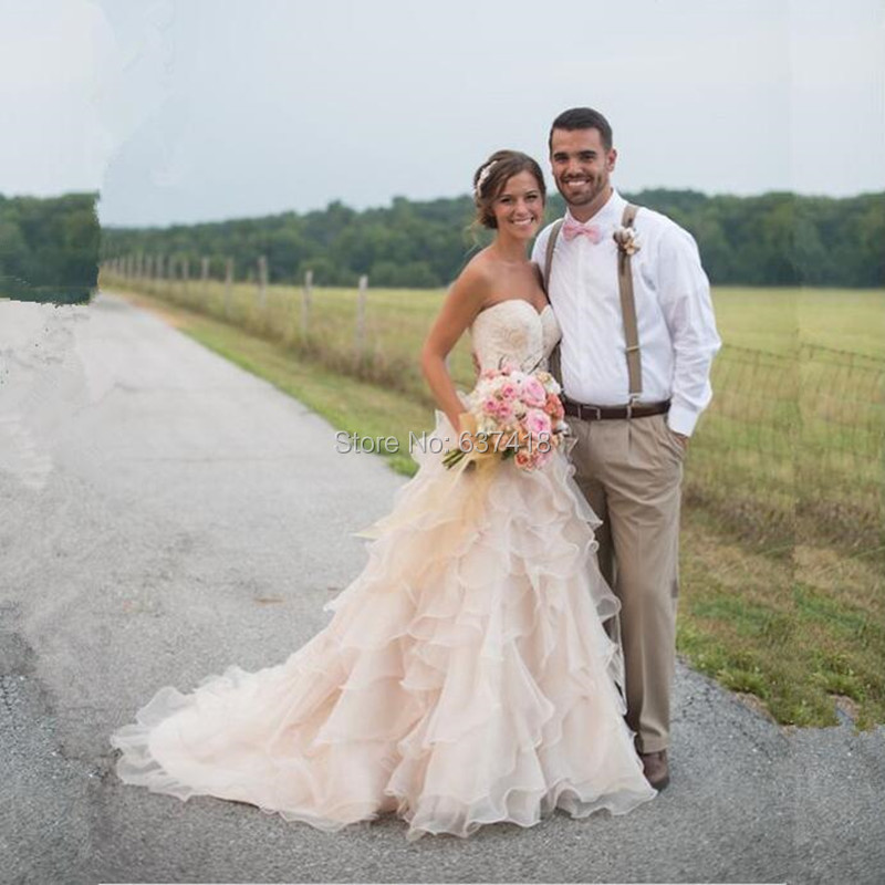 Online Get Cheap Simple Country Wedding Dresses -Aliexpress.com ...