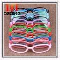 De los niños de vidrios ópticos TR90 silicona chicos chicas marco miopía hipermetropía ambliopía Super marcos ligeros D0297 óculos pará