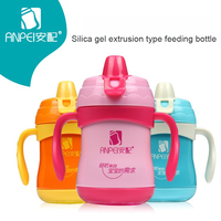 Baby Straw Cup Baby Bottles Thermocup With Handles Water Kettle Kids Water Bottle Drink Glass Water