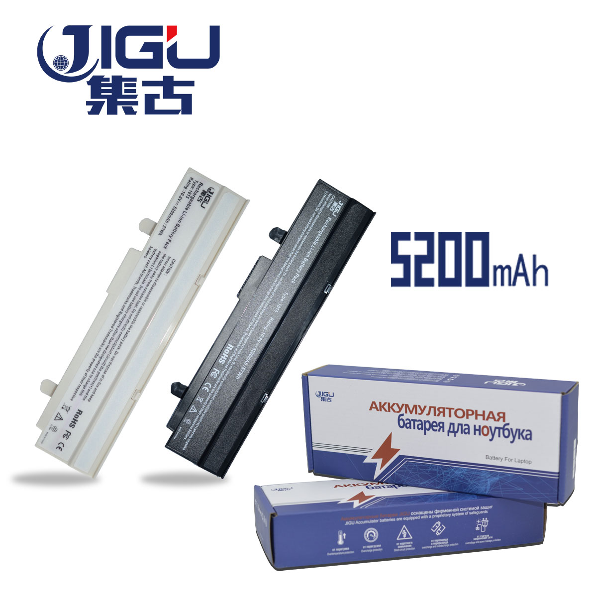 JIGU New Battery For Asus Eee PC EPC 1215 PC 1215B 1215N 1015b <font><b>1015</b></font> 1015bx 1015px 1015p A31-<font><b>1015</b></font> <font><b>A32</b></font>-<font><b>1015</b></font> AL31-<font><b>1015</b></font> image