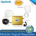 CONJUNTO COMPLETO Display LCD! alto ganho de banda Dupla 4G KIT de reforço de sinal GSM 900 4G LTE 1800 repetidor DE SINAL amplificador de sinal Duplo bar