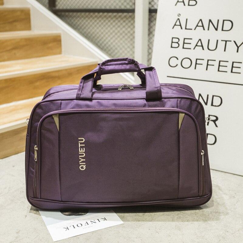 Yoga Bags Large Travel Duffle Bag Oxford Waterproof Women For Gym Fitness Training Shoulder Totes Zipper Weekend Bag New XA663WB