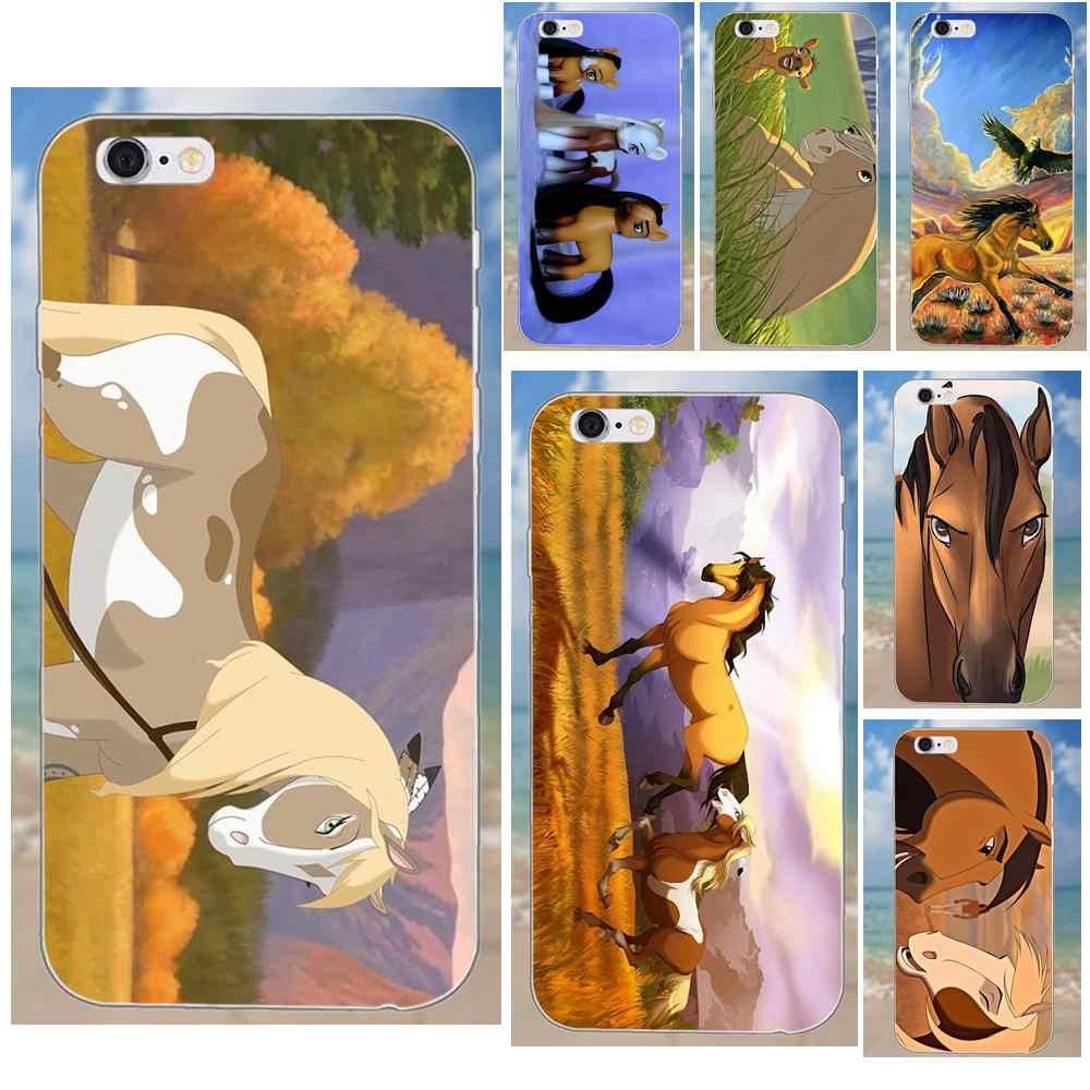 Kmuysl Spirit Stallion Cimarron Horse For Iphone 4 4s 5 5c Se 6 6s