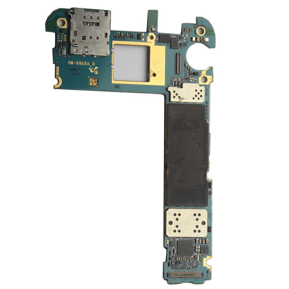 Main Motherboard Unlocked For Samsung Galaxy S6 Edge G925A 32GBMain Motherboard Unlocked For Samsung Galaxy S6 Edge G925A 32GB
