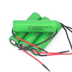 Image 5 - VariCore VTC6 3,7 V 3000 mAh 18650 литий ионная батарея 20A разрядка VC18650VTC6 инструменты электронные сигареты батареи + DIY линия