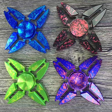 500pcs/lot New Star Sky Crab Fidget Spinner Toys EDC Colorful Hand Spinner Spinning Top Finger Spinner 4 Colors Can Choose