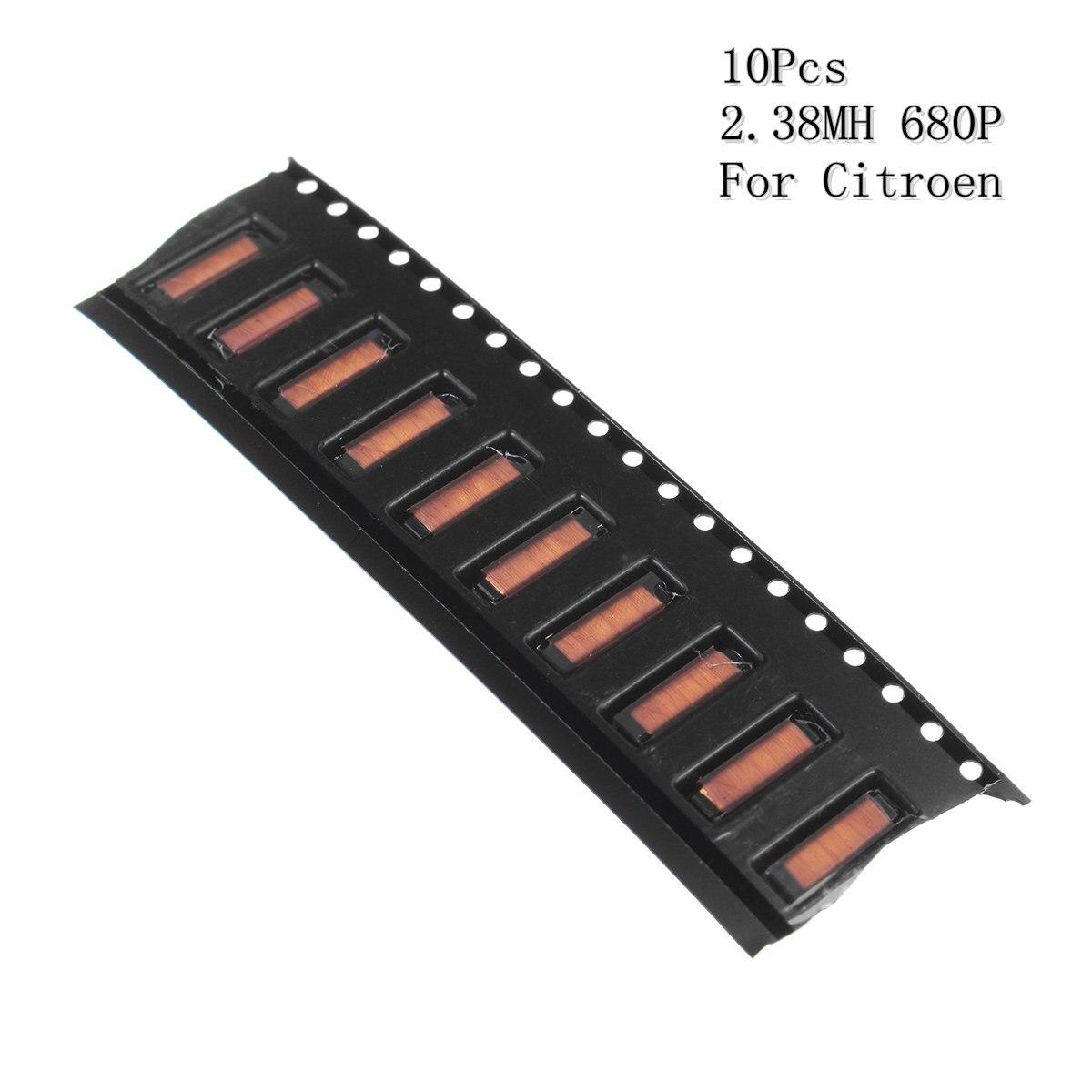 10pcs 2.38MH 680P Car Remote Key Repair Transformer