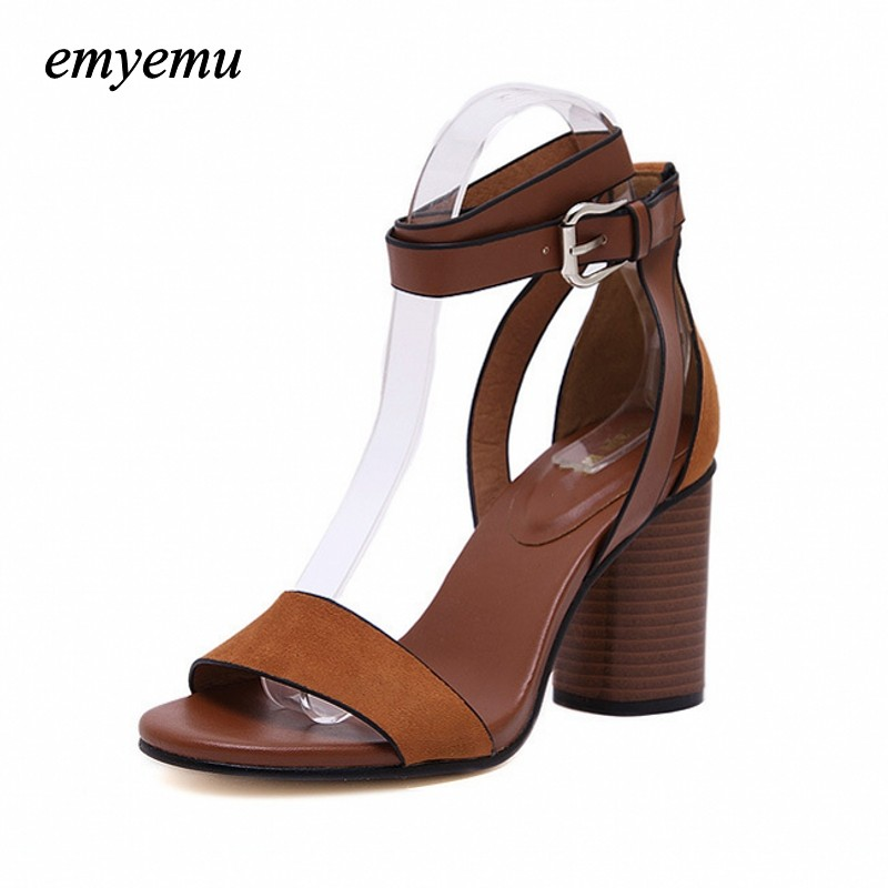 Summer Women Sandals Open Toe Flip Flops Womens Sandles Thick Heel Women Shoes Korean Style Gladiator Shoes Platform Wedge Shoe ...