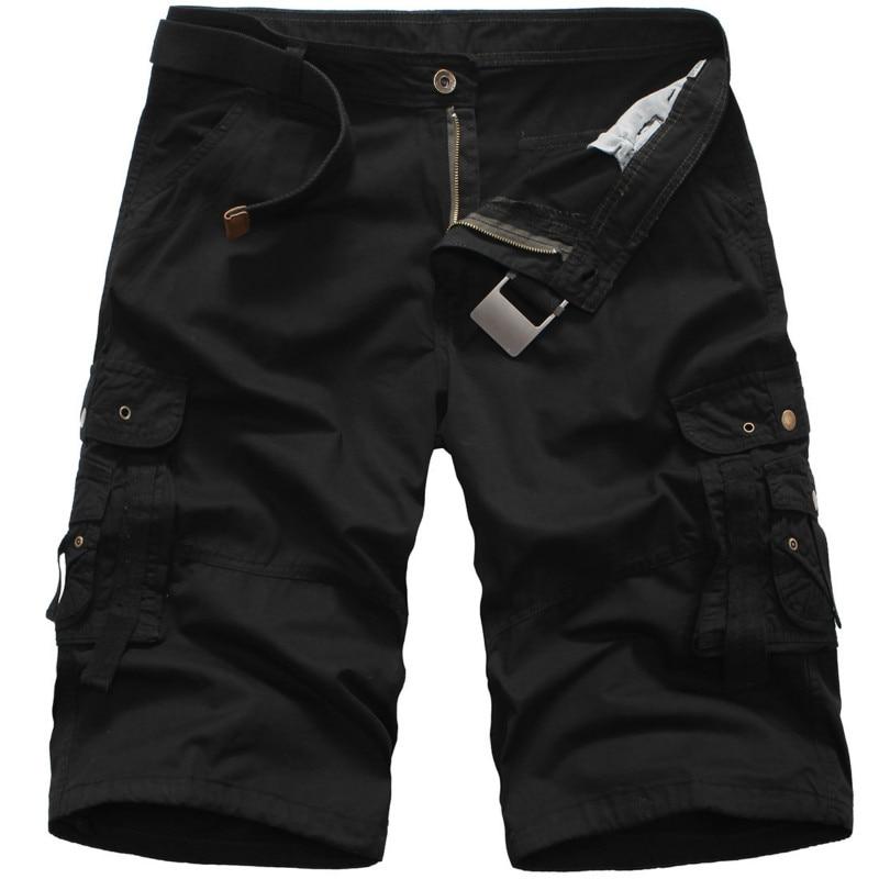 2019 Military Cargo Shorts Men Summer Camouflage Pure Cotton Brand Clothing Comfortable Man Tactical Camo Cargo Mens Wear Shorts