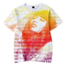 LUCKYFRIDAYF Hot Sale Nicki Minaj 3D Fashion Pop Soft Short Sleeve Cool T-shirts Print Men/Women Summer TShirts Tops Tee