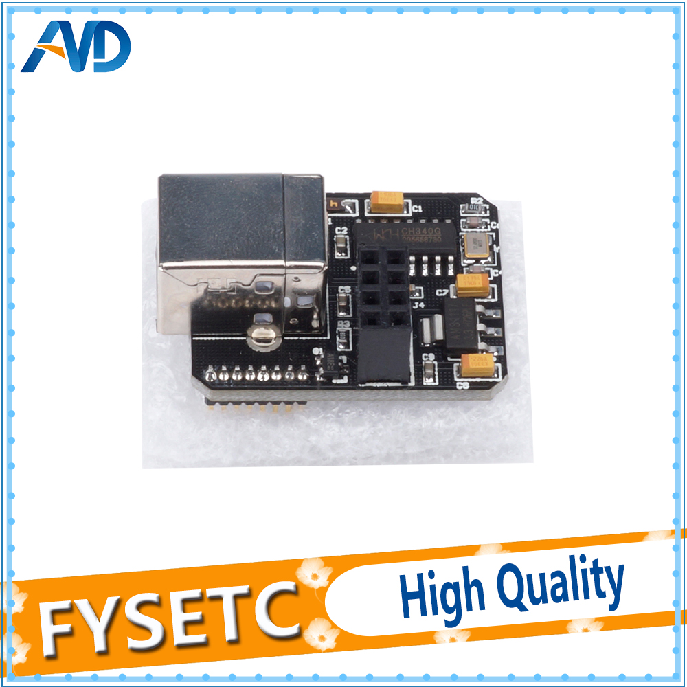2pcs USB Computer Online Module WIFI Function Extensible For Lerdge-X 3D Printer Motherboard LERDGE Parts 3D Accessories