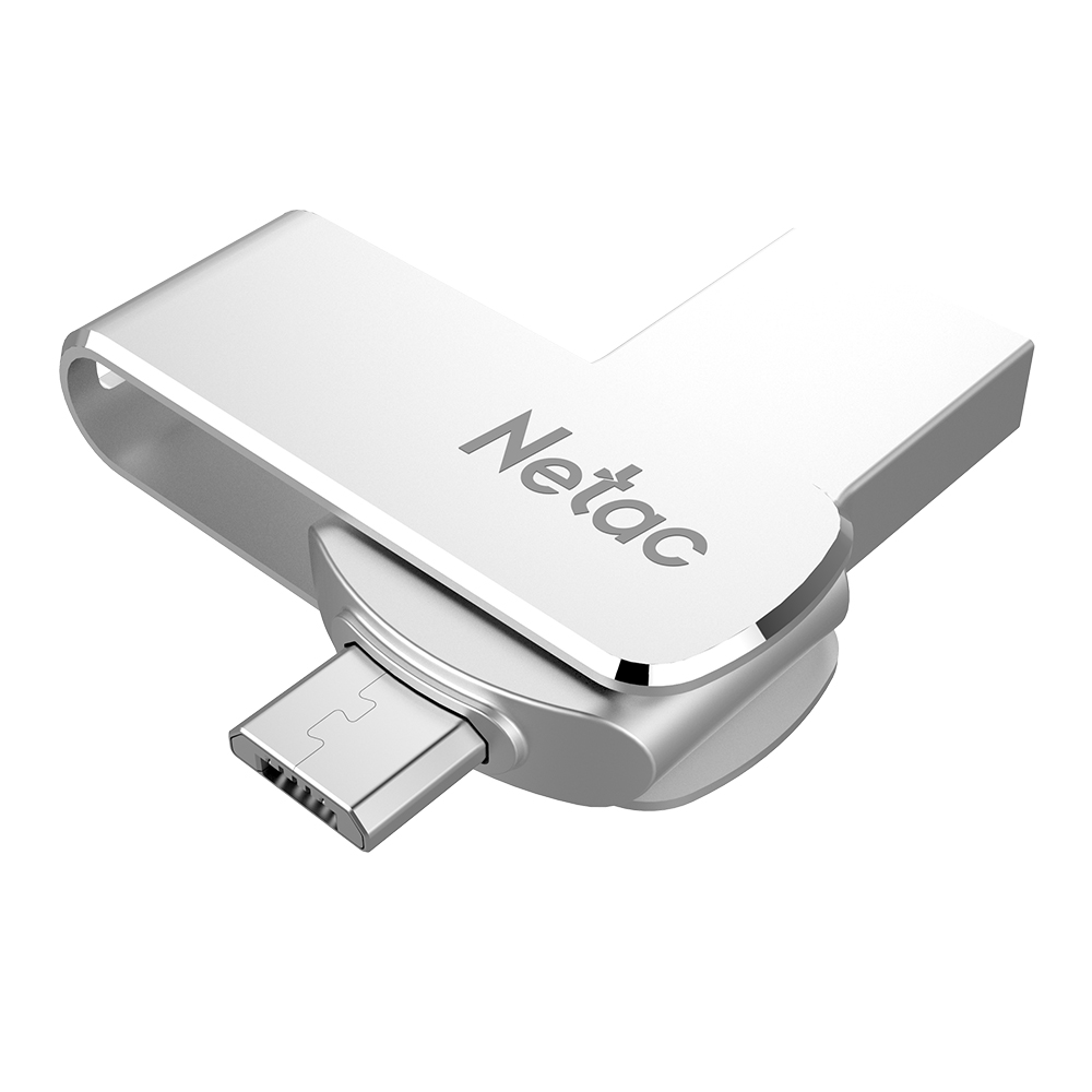 Netac U380 USB Flash Pendrive 16G 32G 64G USB3.0 Dual Interface For Android Phone and PC OTG Mini Flash Drive Memory USB Stick
