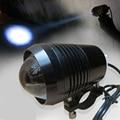 1 PCS 30W 2 Color Motorcycle Headlight 1200LMW  Motorbike spotlight U2 LED Driving car Fog Spot moto Head Light Lamp DRL 2016