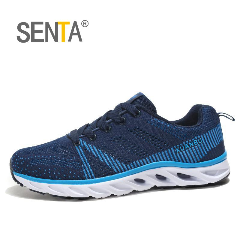 SENTA Men Running Shoes Breathable Outdoor Sportshoes Male Sport Sneakers Light Jogging  ...
