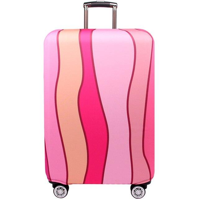 HMUNII карта мира, дизайнерский защитный чехол для багажа, Дорожный Чехол для чемодана, эластичные пылезащитные Чехлы для 18-32 дюймов, аксессуары для путешествий - Цвет: D-Luggage cover