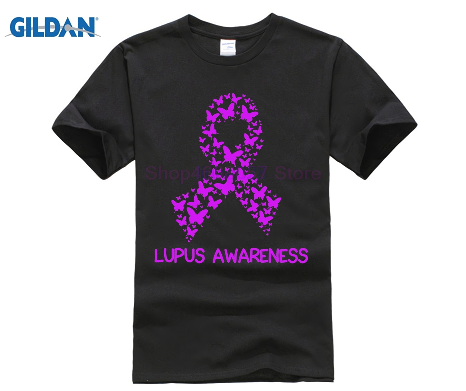 Sólo a lo lupus camisa conciencia apoyo cáncer t camisa en Camisetas ... 17b4b1533bf94