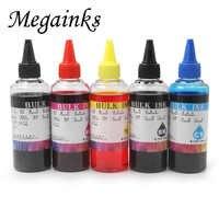 100 ml recarga tinta para canon PGI-570 CLI-571 pixma mg5750 mg5751 mg5752 mg5753 mg6850 mg6851 mg6852 mg7750 impressora