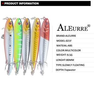 Image 3 - Señuelo para Pesca con lápiz, cabeza de serpiente, cebo Artificial duro, ojos 3D, 6 ganchos, Wobblers de Pesca, Crankbait para piscardo, 8cm, 9,5g