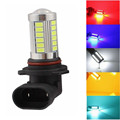 9006 HB4 1156 BA15S 1157 BAY15D 7443 7440 5630 63 33 SMD 33-LED White Red Amber Blue Car Fog Driving Light Lamp Bulb