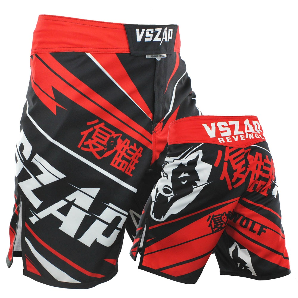 VSZAP Boxing Fight Shorts Cheap MMA Shorts For Men Sotf MMA Muay Thai Sport Shorts Trunks Grappling Sanda Kickboxing Pants Boxe