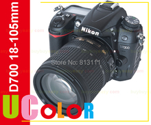ต้นฉบับใหม่Nikon D7000ตัวกล้องดิจิตอลSLRและAF-S DX VR 18-105มิลลิเมตรเลนส์